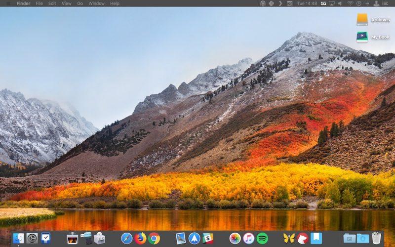 Insertar espacios en el Dock de macOS