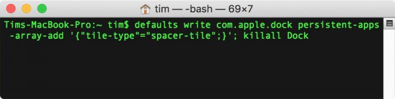 Organizar mejor el dock de Mac
