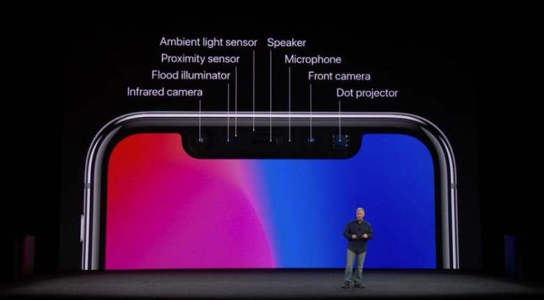 Apple quiere eliminar el Notch