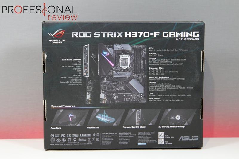 Asus ROG Strix H370-F