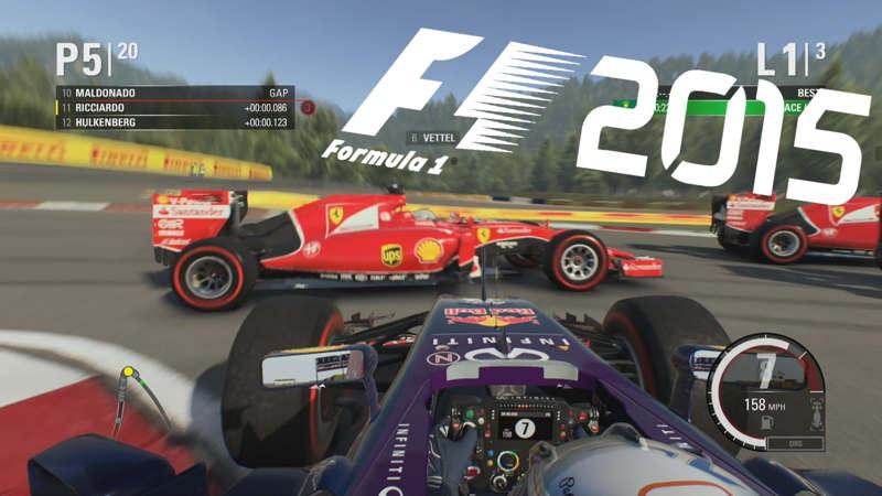 F1 2015 gratis con la Humble Store