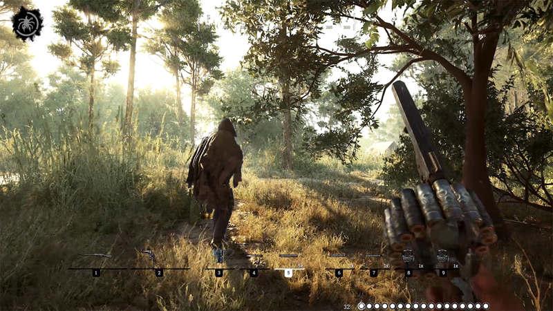 CryEngine V se deja ver en Hunt: Shodown