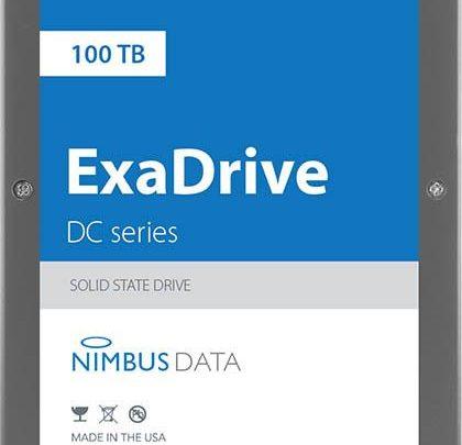 Photo of Nimbus lanza el SSD DC100 de mayor capacidad de la historia