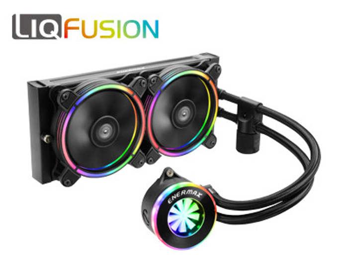 Enermas LiqFusion con unas estética basada en el RGB