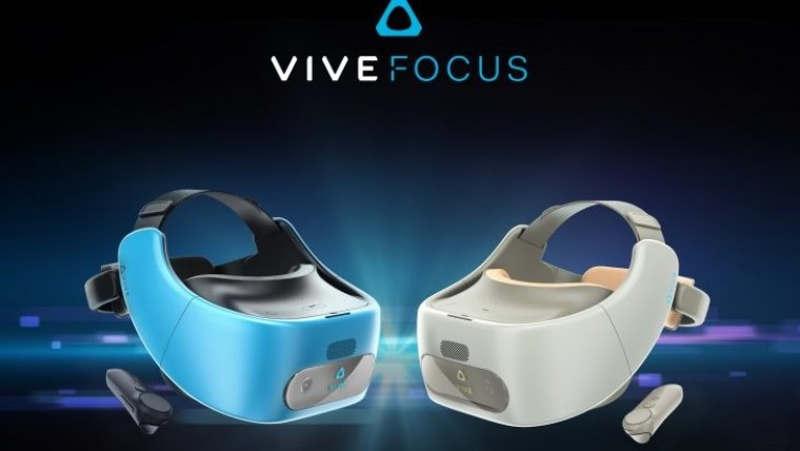 HTC Vive Focus llegará este año