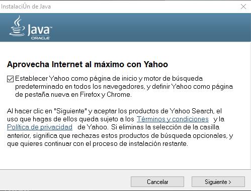 Instalar Java Windows 10
