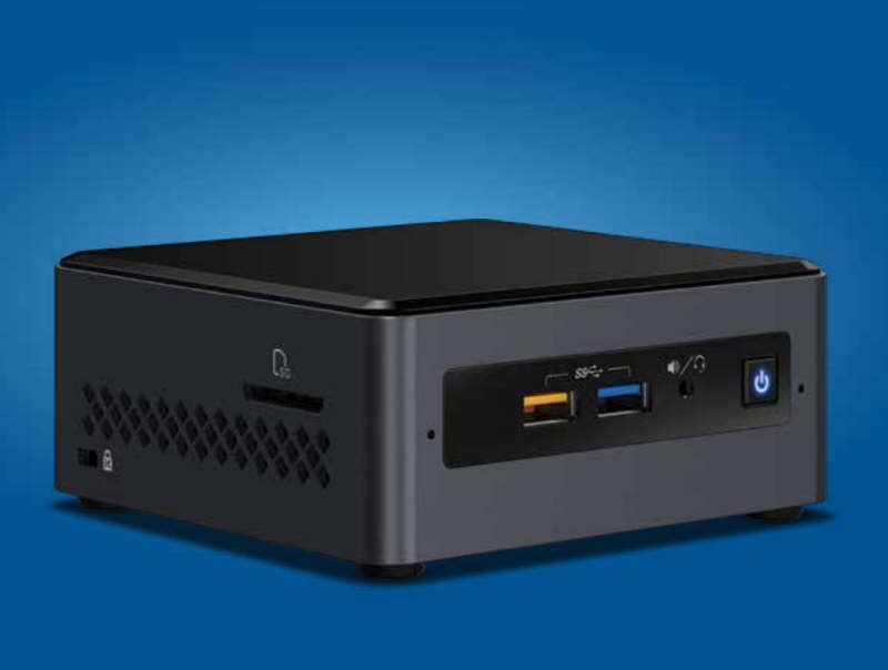 Intel NUC 7 PJYH y NUC 7 CJYH con Gemini Lake