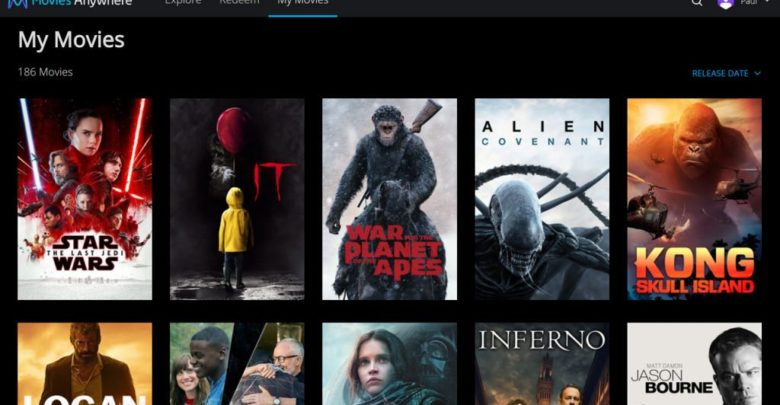 Photo of Microsoft planea unirse a Movies Anywhere
