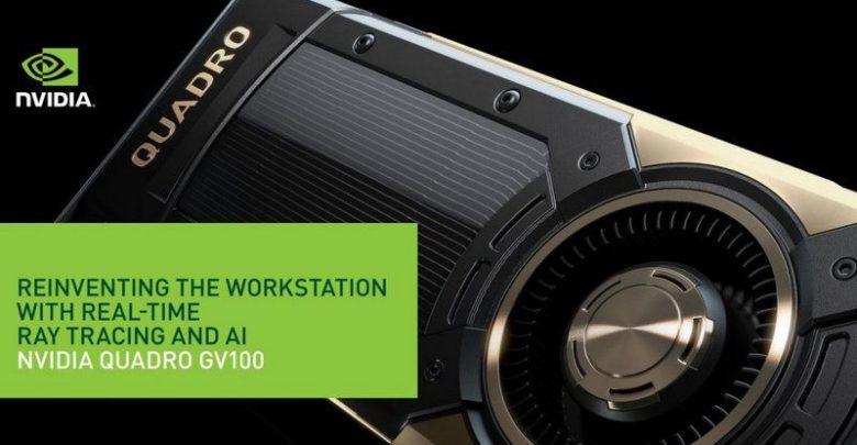 Photo of NVIDIA presenta la tarjeta gráfica Quadro GV100 con tecnología RTX