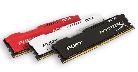 Nuevas memorias DDR4 HyperX Fury e Impact