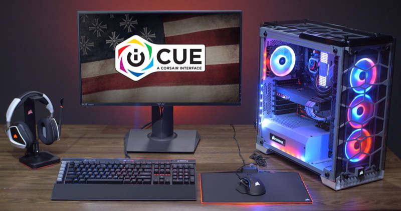 Nuevo y avanzado software Corsair iCUE