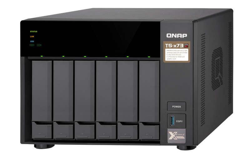 QNAP NAS TS-x73 propulsados por AMD