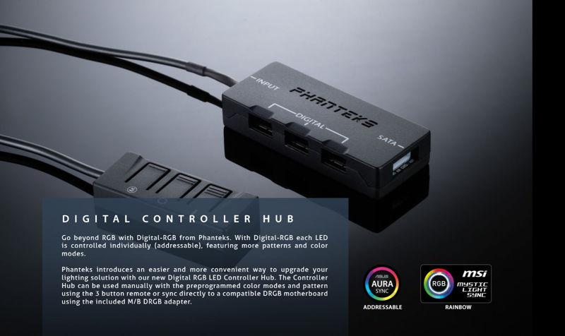 Phanteks Digital RGB quiere revolucionar la iluminación de tu PC