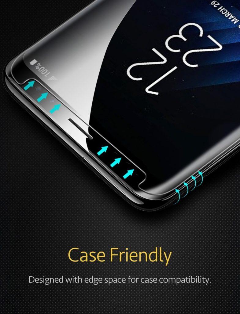 protector de pantalla para samsung s9 plus
