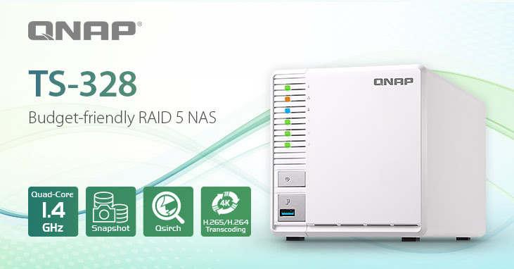 QNAP NAS TS-328, la mejor solución de almacenamiento y streaming para el hogar