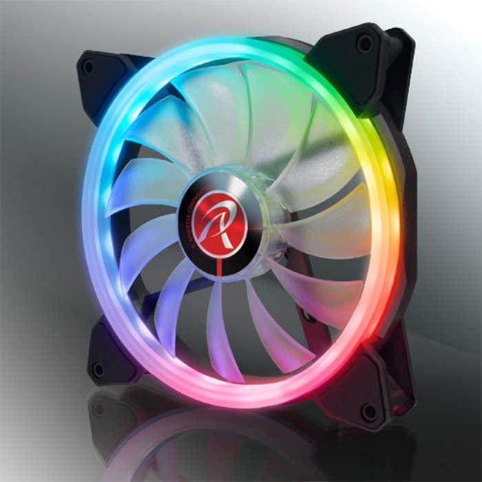 Raijintek Iris 14 Rainbow RGB 140 mm