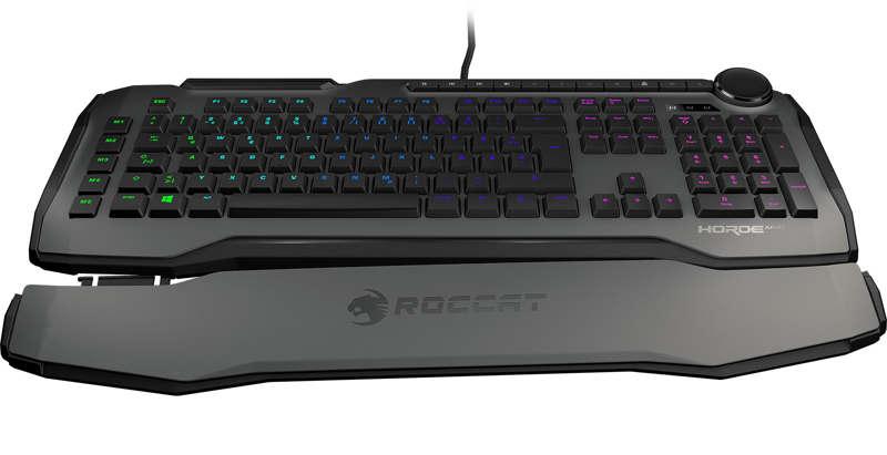 Roccat Horde AIMO, teclado meca-membrana de alta precisión
