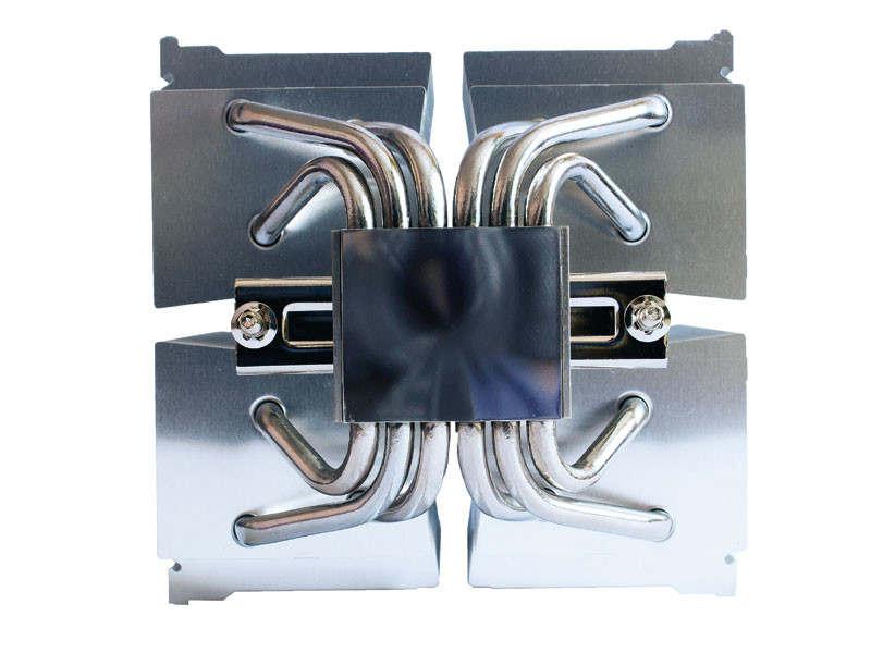 Scythe Ninja 5 con dos ventiladores Kaze Flex 120