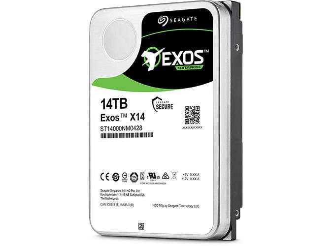 Seagate Exos X14 ofrece 14 TB