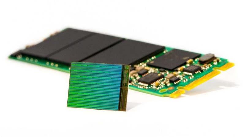 Tsinghua Unigroup fabricará NAND de 64 capas de Intel