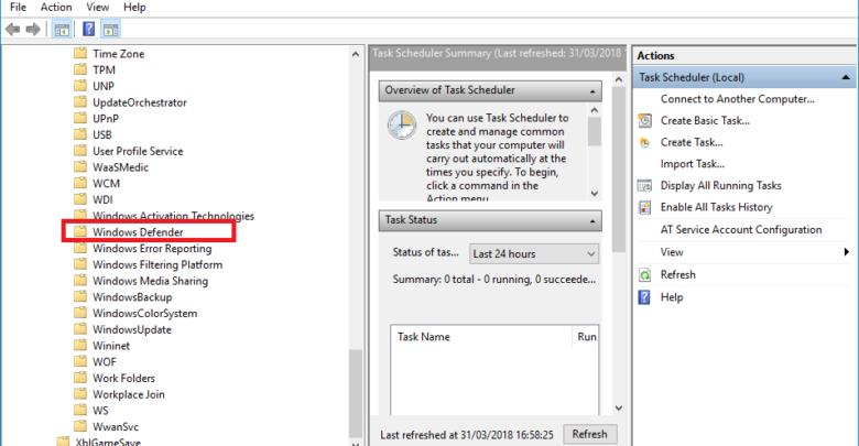 Photo of Cómo programar Windows Defender para analice a una hora concreta