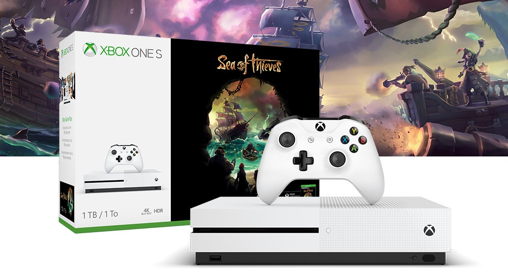 Xbox One S tendrá un nuevo pack junto a Sea of Thieves