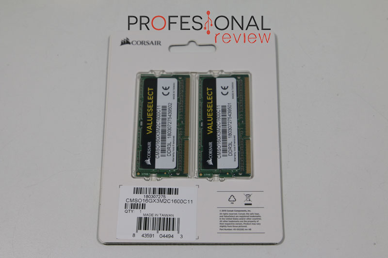Corsair Value Select DDR3L