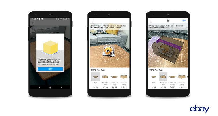 Photo of La aplicación de eBay empieza a usar realidad aumentada