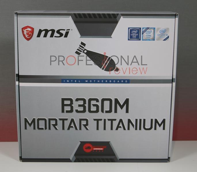 MSI B360M Mortar Titanium review