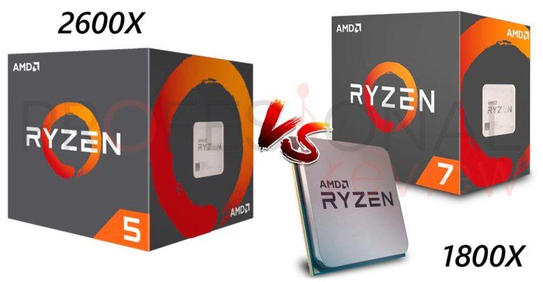 Photo of AMD Ryzen 5 2600X vs Ryzen 7 1800X rendimiento juegos y aplicaciones