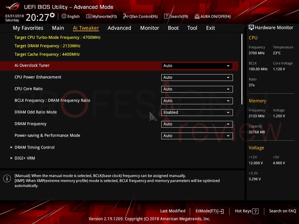 Asus ROG Strix H370-F BIOS