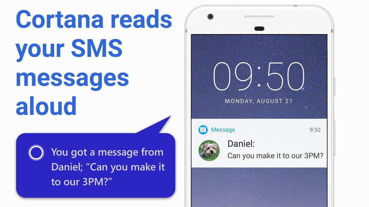 Cortana te permitirá leer los SMS muy pronto