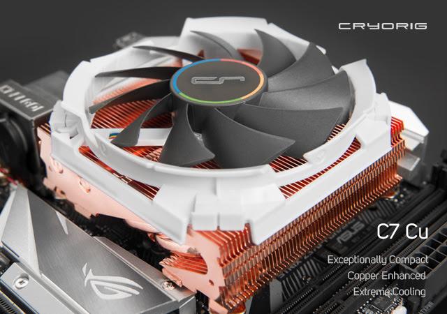 Cryorig C7 Cu con radiador de cobre