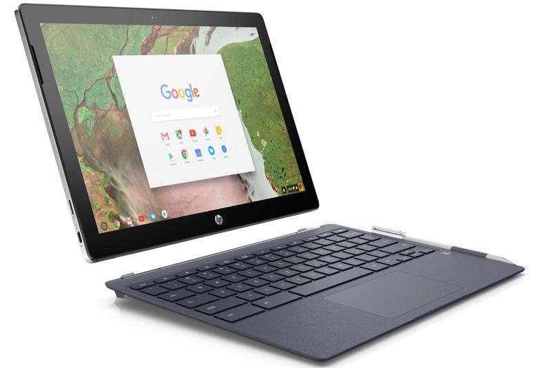 HP Chromebook x2 convertible en tablet