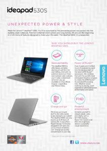 Lenovo IdeaPad 530S ahora con AMD Ryzen y Vega