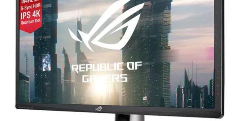 Photo of Ya a la venta los monitores 4K a 144 Hz con G-Sync y HDR