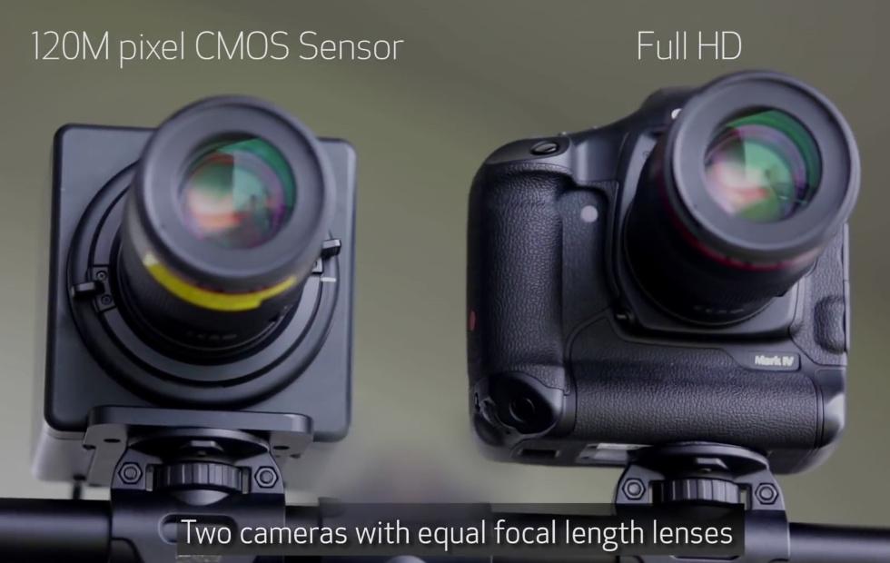 Nueva cámara Canon 120MXS de 120 megapíxeles