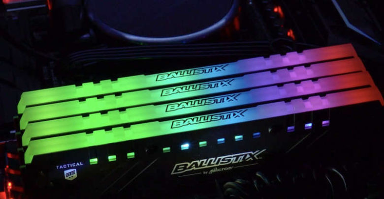 Photo of Ya disponibles las memorias Ballistix Tactical Tracer RGB DDR4