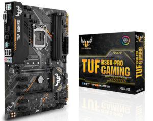 Asus ROG Strix, TUF Gaming y Prime con H370 y B360