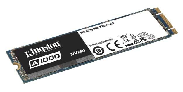 Photo of Kingston A1000 se convierte en el SSD NVMe más asequible