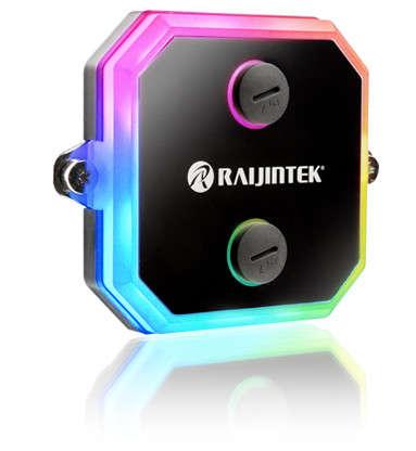 Raijintek CWB-RGB, un bloque de agua con RGB