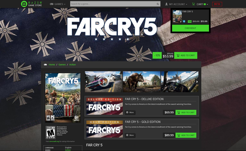 Razer Game Store, nueva tienda de juegos digitales