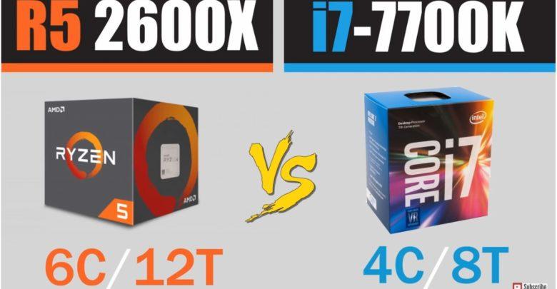Photo of Ryzen 5 2600X vs Core i7 7700K en juegos actuales