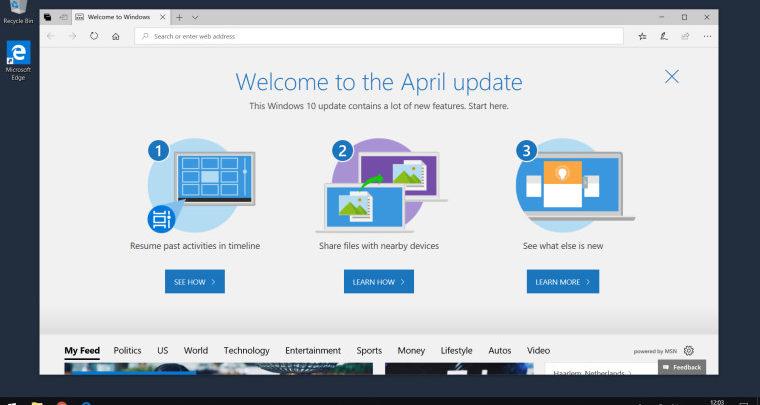 Photo of Windows 10 April Update llegará finalmente el día 8 de mayo