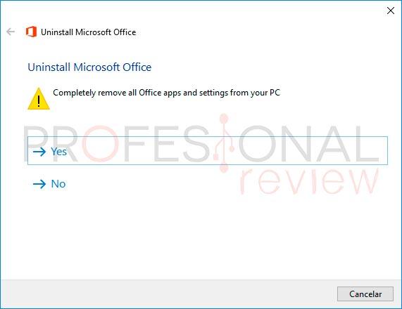 Cómo desinstalar Microsoft Office