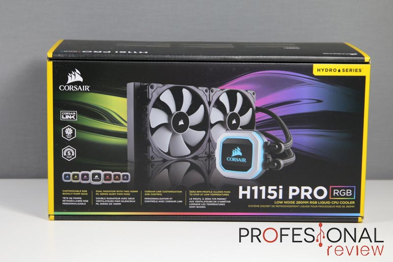 Corsair H115i PRO review