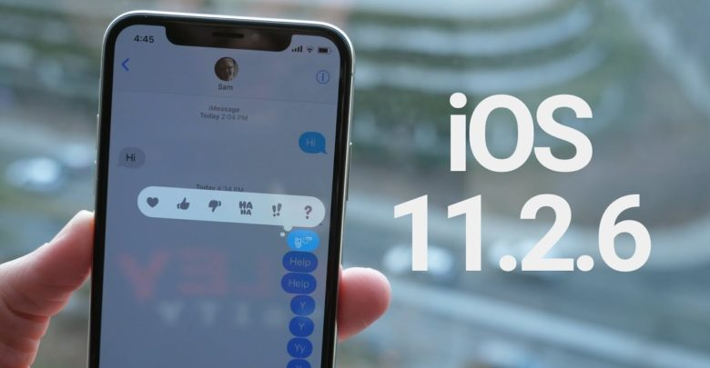 Photo of Tras el lanzamiento de iOS 11.3, Apple deja de firmar iOS 11.2.6
