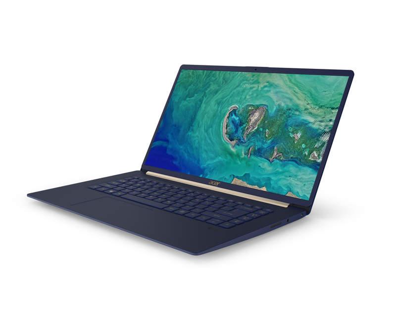Acer Swift 5, un portátil ultraligero y de gran rendimiento