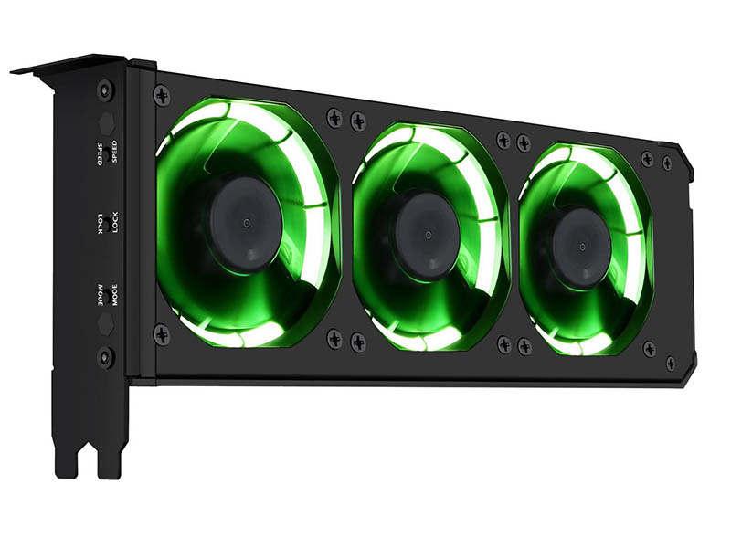 Anidees AI-GP-CL8, avanzado disipador de tres ventiladores para GPU
