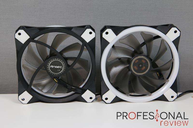 Antec Kuhler H2O K240 ventiladores